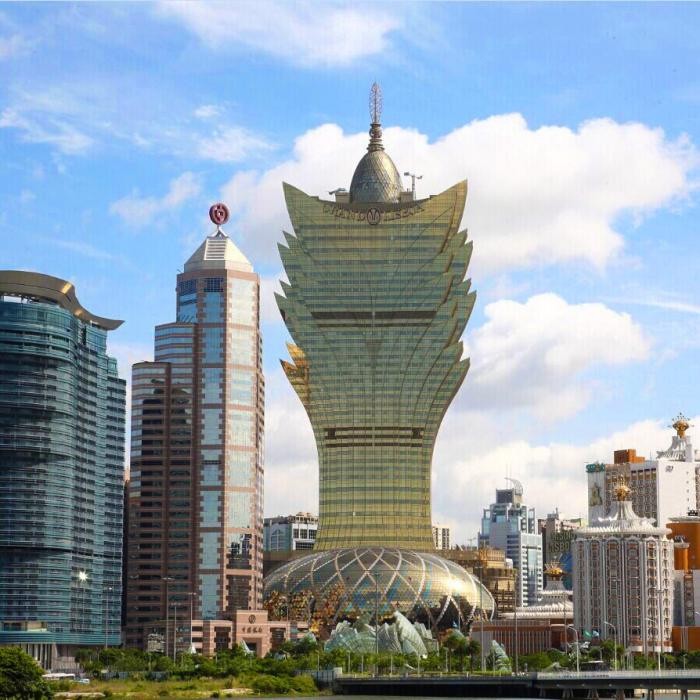 Ugliest hotel in the world: Grand Lisboa Hotel in Macau
