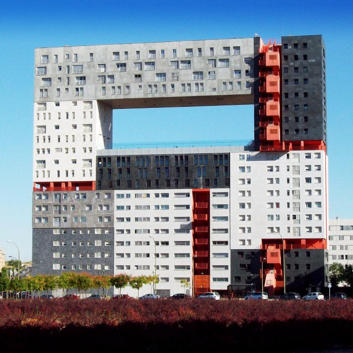 Ugliest apartment complex in the world: Mirador Building in Madrid