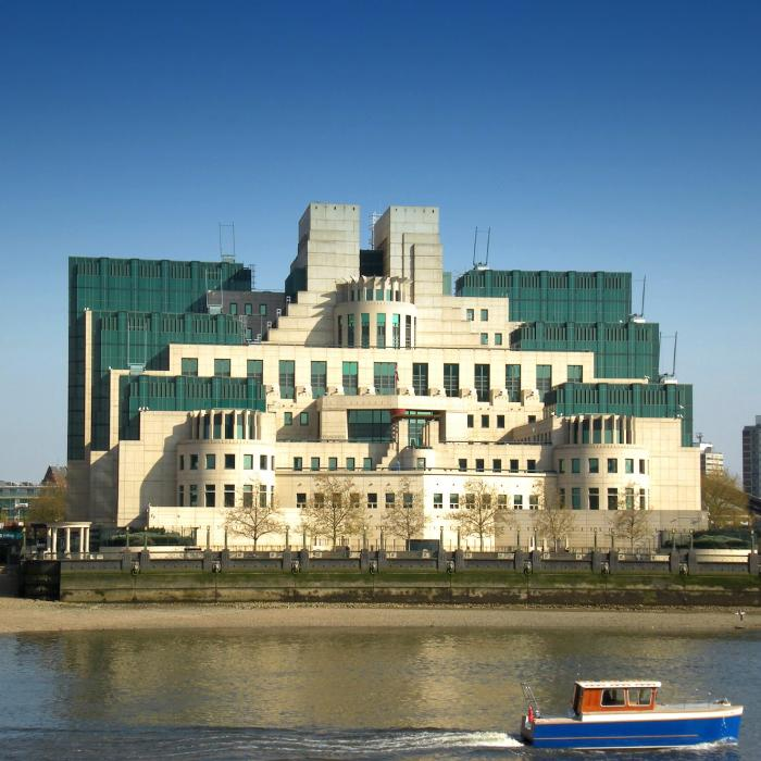 Ugliest headquarters in the world: SIS Building in Vauxhall, London