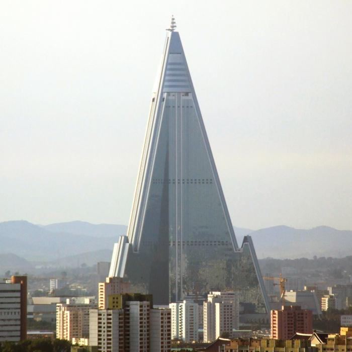 Ugliest building ever - Ryugyong Hotel North Korea
