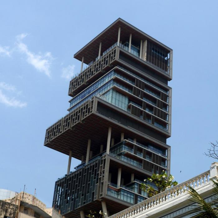 Ugliest house ever - Antilia, Mumbai
