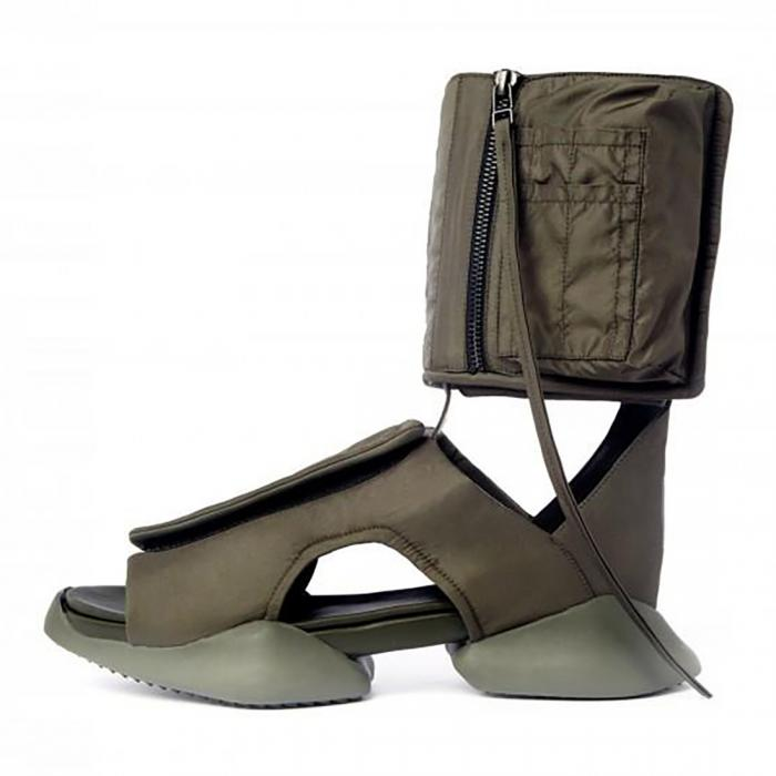 Ugliest sandals ever - Rick Owen Adidas