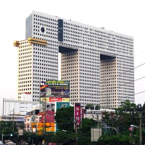 Ugliest building in the world: Elephant Building Bangkok