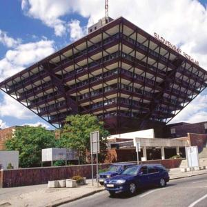 Ugliest building in the world: The Slovak Radio Building in Bratislava